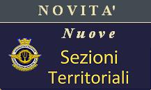 Accedi alla Sezioni territoriali di Pratica di Mare, Cervia, Trapani, Gioia e Decimo